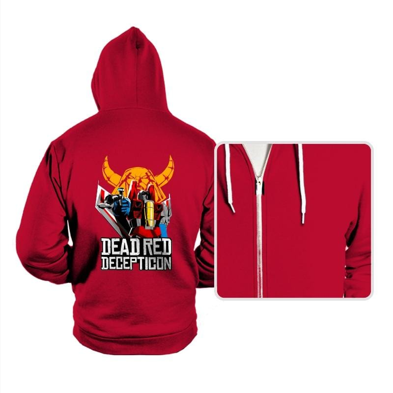 Dead Red Deception - Hoodies - Hoodies - RIPT Apparel
