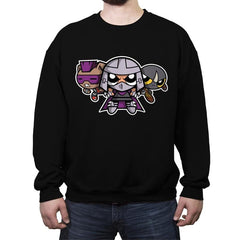 The Powerpuff Foot - Crew Neck Sweatshirt - Crew Neck Sweatshirt - RIPT Apparel