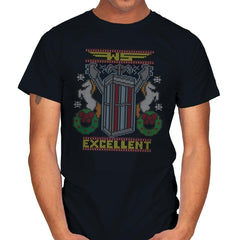 Excellent Sweater - Ugly Holiday - Mens - T-Shirts - RIPT Apparel