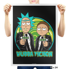 Wubba Fiction - Prints - Posters - RIPT Apparel