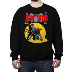 Babysitter No. 10 - Crew Neck Sweatshirt - Crew Neck Sweatshirt - RIPT Apparel