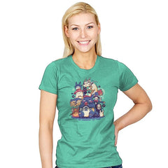 Creatures Spirits and friends - Womens - T-Shirts - RIPT Apparel