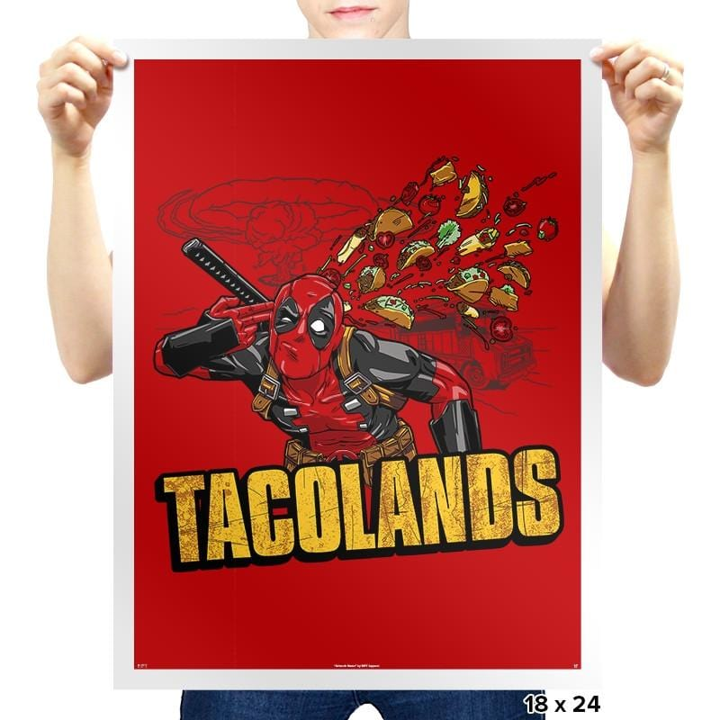 Tacolands - Prints - Posters - RIPT Apparel