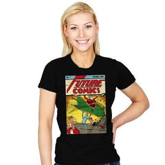 Future Comics 1 - Womens - T-Shirts - RIPT Apparel
