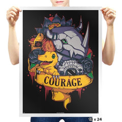 Digital courage - Prints - Posters - RIPT Apparel