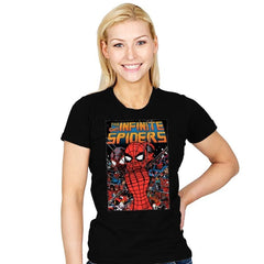 Infinity Spiders - Womens - T-Shirts - RIPT Apparel