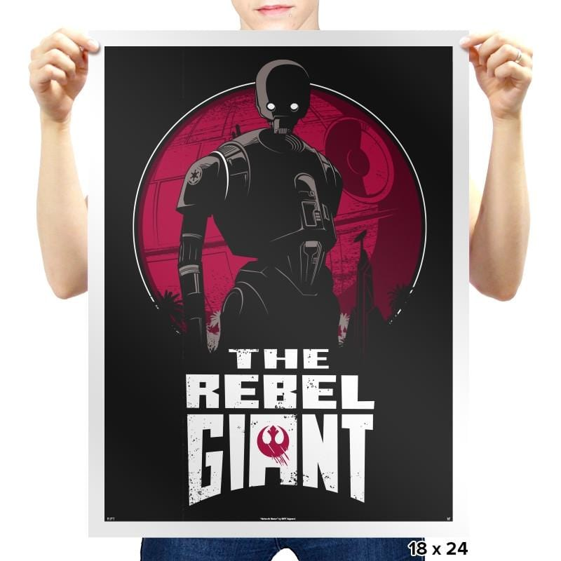 The Rebel Giant - Prints - Posters - RIPT Apparel