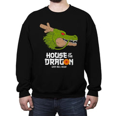 House of the dragon - Crew Neck Sweatshirt - Crew Neck Sweatshirt - RIPT Apparel
