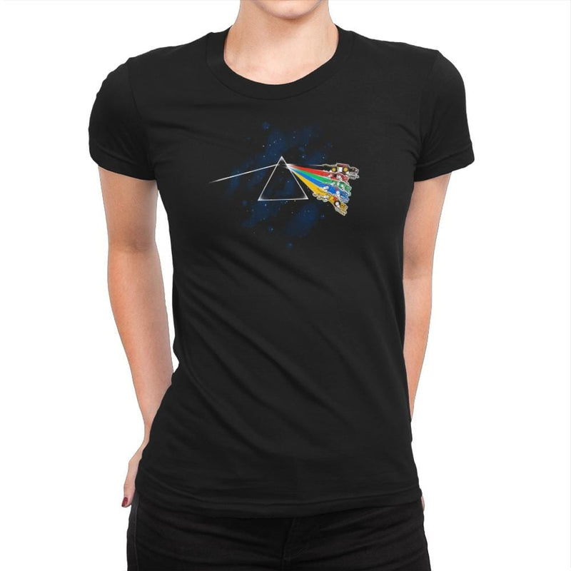 The Dark Side of Planet Arus Exclusive - Womens Premium - T-Shirts - RIPT Apparel