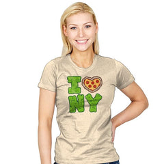 I PIZZA NY - Womens - T-Shirts - RIPT Apparel