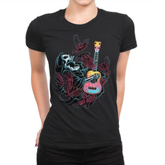 Sing For The Crows - Womens Premium - T-Shirts - RIPT Apparel