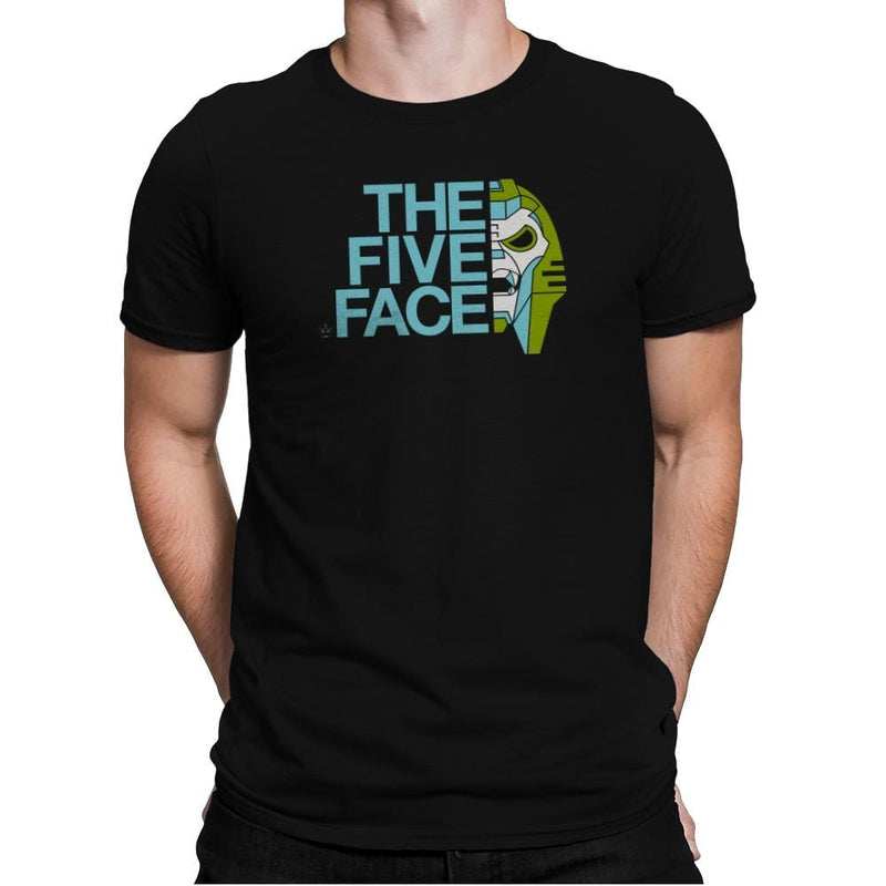 The Five Face Exclusive - Mens Premium - T-Shirts - RIPT Apparel