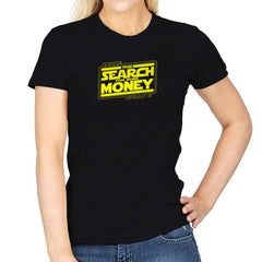 The Search For More Money Exclusive - Womens - T-Shirts - RIPT Apparel