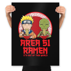 Area 51 Ramen - Prints - Posters - RIPT Apparel