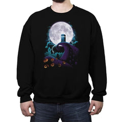 Tardis and Nightmares - Crew Neck Sweatshirt - Crew Neck Sweatshirt - RIPT Apparel