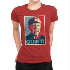 A Quiet Hope - Womens Premium - T-Shirts - RIPT Apparel