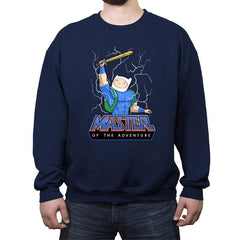 Master of time and adventure - Crew Neck Sweatshirt - Crew Neck Sweatshirt - RIPT Apparel