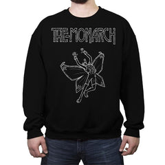 Monarch Zeppelin - Crew Neck Sweatshirt - Crew Neck Sweatshirt - RIPT Apparel