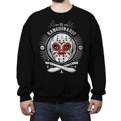 El Sanguinario - Crew Neck Sweatshirt - Crew Neck Sweatshirt - RIPT Apparel
