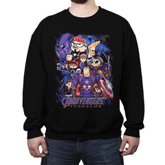 Toongame - Anytime - Crew Neck Sweatshirt - Crew Neck Sweatshirt - RIPT Apparel