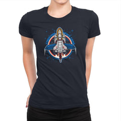 Cybertron Space Camp Exclusive - Womens Premium - T-Shirts - RIPT Apparel