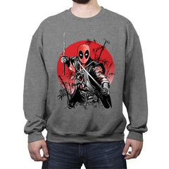 The Way of the Mercenary - Crew Neck Sweatshirt - Crew Neck Sweatshirt - RIPT Apparel