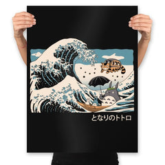 The Great Wave of Spirits - Prints - Posters - RIPT Apparel