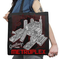 Greetings from the Metro Exclusive - Shirtformers - Tote Bag - Tote Bag - RIPT Apparel