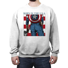 Americas Ass - Crew Neck Sweatshirt - Crew Neck Sweatshirt - RIPT Apparel