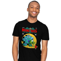 Monsters Comic - Mens - T-Shirts - RIPT Apparel
