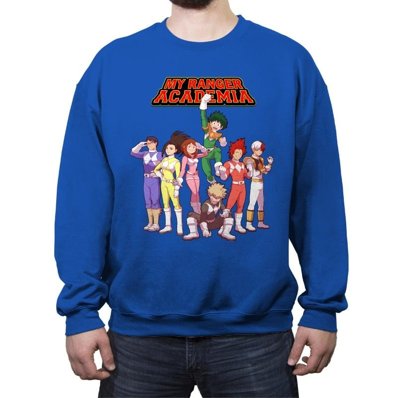 My Ranger Academia - Crew Neck Sweatshirt - Crew Neck Sweatshirt - RIPT Apparel