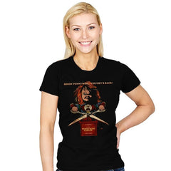 Sorry Pennywise... Chucky's Back! - Womens - T-Shirts - RIPT Apparel