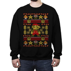 Super Ugly - Ugly Holiday - Crew Neck Sweatshirt - Crew Neck Sweatshirt - RIPT Apparel