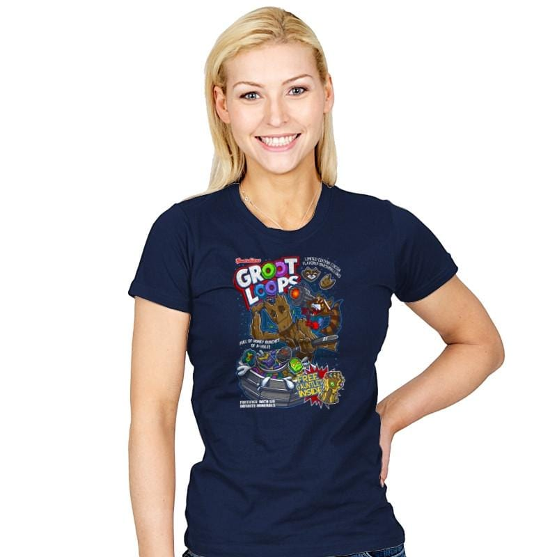 Groot Loops - Awesome Mixtees - Womens - T-Shirts - RIPT Apparel