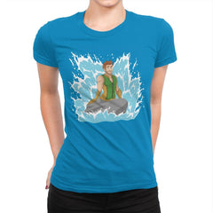 Seven's Mermaid - Womens Premium - T-Shirts - RIPT Apparel