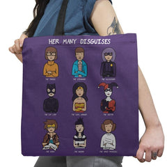 The Many Disguises of a Morgandorfer Exclusive - Tote Bag - Tote Bag - RIPT Apparel