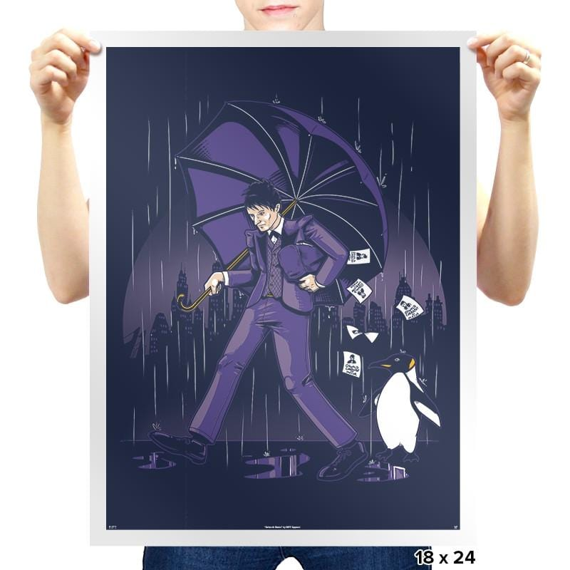 Salty Penguin Exclusive - Prints - Posters - RIPT Apparel