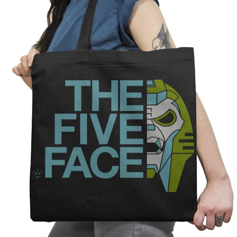 The Five Face Exclusive - Tote Bag - Tote Bag - RIPT Apparel