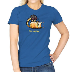 Go Away Right Meow - Womens - T-Shirts - RIPT Apparel