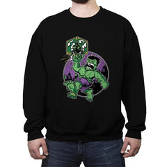 Super Smash Bricks - Crew Neck Sweatshirt - Crew Neck Sweatshirt - RIPT Apparel