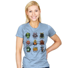 Lovecraft Demons - Womens - T-Shirts - RIPT Apparel