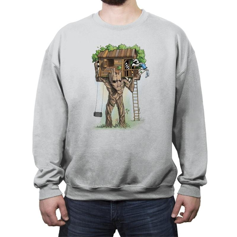 Rocket Treehouse - Crew Neck Sweatshirt - Crew Neck Sweatshirt - RIPT Apparel