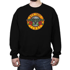 Han N' Roses - Crew Neck Sweatshirt - Crew Neck Sweatshirt - RIPT Apparel