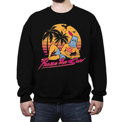 Praise the Summer - Crew Neck Sweatshirt - Crew Neck Sweatshirt - RIPT Apparel
