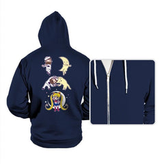 Sailor + Moon - Hoodies - Hoodies - RIPT Apparel