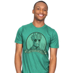 In Groot We Trust - Mens - T-Shirts - RIPT Apparel