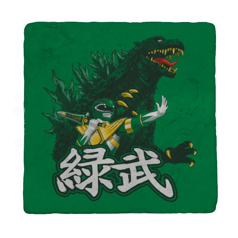 Green Warrior - Coasters - Coasters - RIPT Apparel