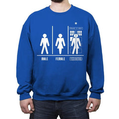 WHOever - Crew Neck Sweatshirt - Crew Neck Sweatshirt - RIPT Apparel