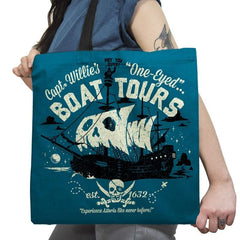 One-Eyed Boat Tours Exclusive - Tote Bag - Tote Bag - RIPT Apparel