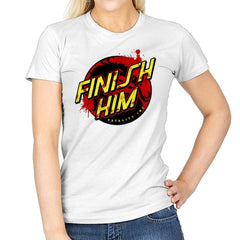 Finish Him! - Womens - T-Shirts - RIPT Apparel